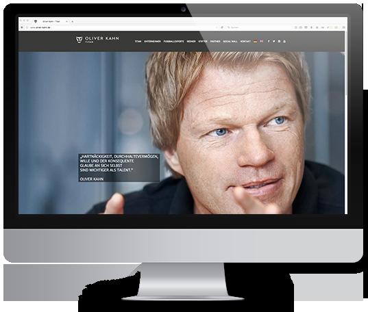 Webseiten Gestaltung für Unternehmen, Sportvereine, Sportler