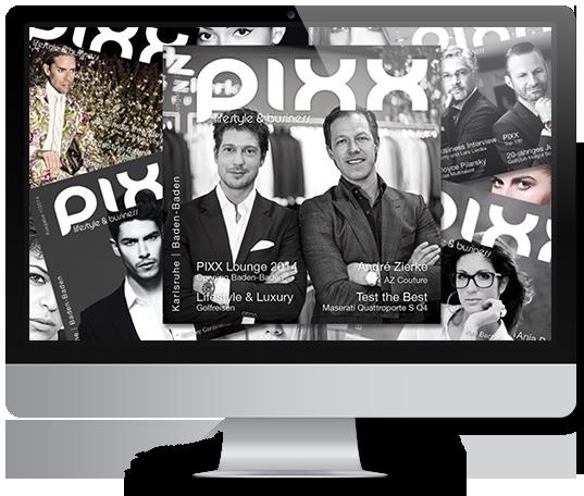 PIXX Magazin Abo