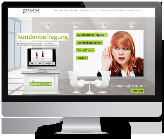 PIXX Agentur B2B Onlinebereich
