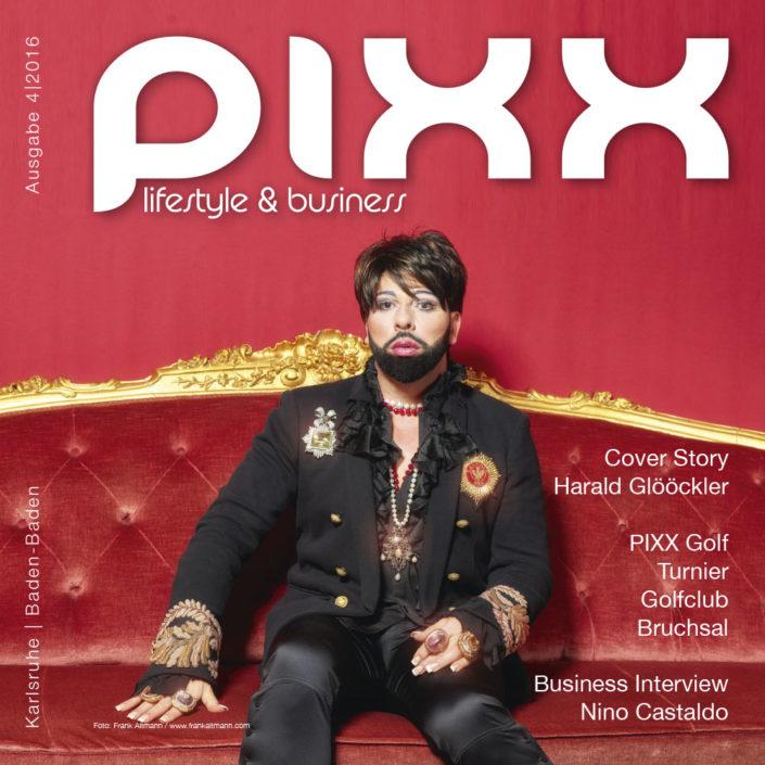 PIXX Magazin, Harald Glööckler