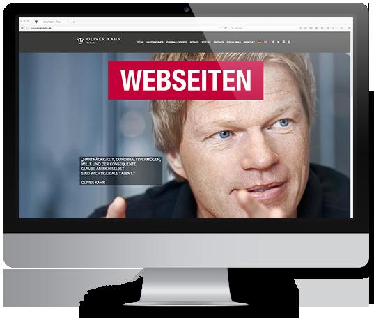 Werbeagentur für Webseiten Gestaltung