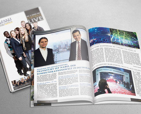 Magazine & Kataloge grafische Gestaltung - PIXX Agentur