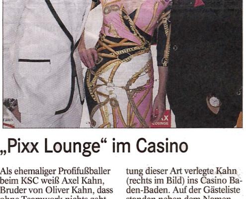 Pixx Lounge im Casino Baden-Baden