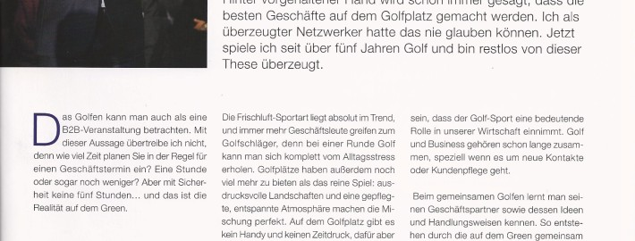 Fairway - GOLF UND BUSINESS